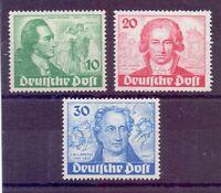 Berlin 1949 - Goethe - MiNr. 61/63 postfrisch** - Michel 320,00 € (365)
