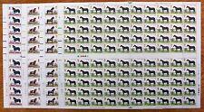 GB 1978 Horses (4) Complete Traffic Light Folded SEE BELOW NB1503