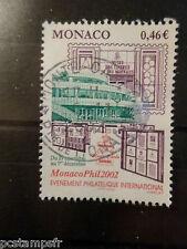 MONACO 2002, timbre 2353, EXPOSITION MONACOPHIL, oblitéré, VF STAMP
