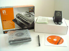 Level One wsk-1000 54 Mbps 4-Port 10/100 Wireless G enrutador Starter Kit-nuevo