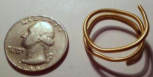 Roman or Celtic Hair Band, 100BC, 5.67 grams, 22K