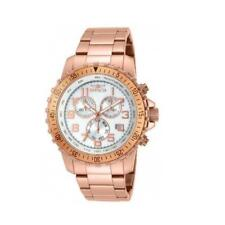 Invicta Specialty 14847 Rose Gold Plated Men's Chronograph Quartz Watch