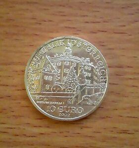 10 euro Argent Autriche 2002