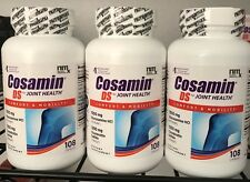 3X Cosamin DS Joint Health Supplement, 108 Capsules EXP 2020+