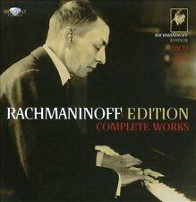 Rachmaninoff Edition - Complete Works .. Horenstein; Rachmaninoff [Composer]; W