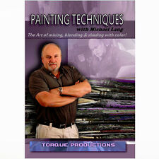 Art Instruction DVD ''peinture techniques'' Michael Lang Comment démonstration