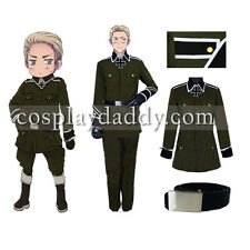 APH Axis Powers Hetalia Germany Cosplay Costume full set Japanese Anime outfits