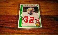 1978 Football Trading card #400 O.J. OJ SIMPSON San Francisco 49ers NINERS Sport