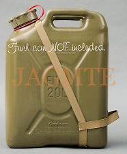 EASY POUR STRAP-2 Handle-MFC-Brown for your Scepter Military Fuel Gas Can