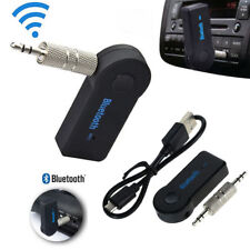 Wireless Bluetooth 3.5mm Car Aux Audio Music Stereo Hands-Free Receiver Adapter~