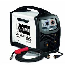 TELWIN Maxima 200 MIG/MAG/Flux/TIG/MMA Synergique Digital soudeur soudage Inverter