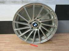 1x ALUFELGE MOTEC Tornado + 9,5j x 19 ET35 + 5x120 + Silber + BMW + MC19-9519