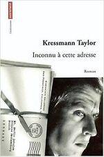 kressmann Taylor - inconnu à cette adresse - 1999 - Broché