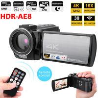 3 Inch 4K WIFI Cam LCD 1920P 48MP Pixels FHD Digital Camera Video DV Camcorder//