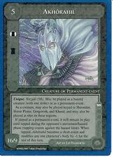 MIDDLE EARTH BLUE BORDER PREMIER RARE CARD AKHORAHIL
