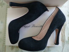 Agent Provocateur Vivienne Westwood 37 38 black suede shoes heels 5 4.5 box NEW
