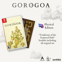 Gorogoa Nintendo Switch Iam8bit Exclusive #3 Limited Run LRG Brand New Sealed