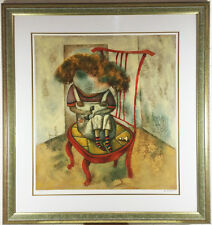 "FRAMED SIGNED LITHOGRAPH BY GREGORY KOHELET LTD EDITION OF 245  ""DANIEL"""