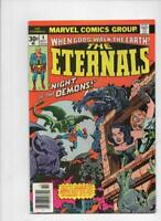 ETERNALS #4, VF/NM, Jack Kirby, Marvel, Night of the Demons, 1976, more in store