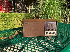 The Fisher 100 Tune-O-Matic Microceiver FM Radio Vintage Radio Converted