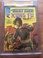 DEADLY HANDS OF KUNG FU #3 signed Neal Adams CGC 9.4 David Carradine