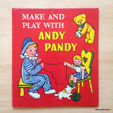 Make and Play with Andy Pandy - Vintage 1966 - H/C