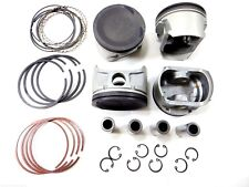 """Premium Pistons+OES Rings (.50mm=.020"""") for 00-06 Nissan 1.8L Sentra 4Cyl QG18DE"""