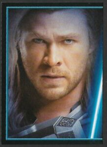 MARVEL - THE AVENGERS - STICKER COLLECTION - No 139 - THOR - By PANINI