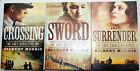 Complete LAST CAVALIERS 3logy Gilbert Morris Civil War CROSSING SWORD SURRENDER for sale