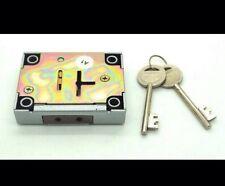 Replacement Gun Cabinet 7 Lever Safe Lock New C/w 2 keys ( Non Key Retaining)