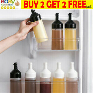 250ml Plastic Clear Squeeze Squeezy Sauce Bottle Mayo Dispenser Bottles-KitchNL