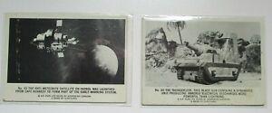 Thunderbirds cards 60 65 of 72 card set 1966 Somportex UK