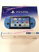 [Brand New] PS Vita Wi-Fi Console [Aqua Blue] [PCH-2000 ZA23] [Japan] PSV
