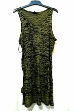 H&M army green tank top / dress