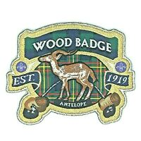 2019 Wood Badge Antelope Patch from the UK World Scouting 100th Anniversary