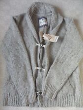 Men's Collared Wool Blend Button-Front Jumpers & Cardigans