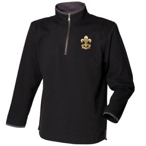 Kings Regiment - Zip Neck Sweatshirt
