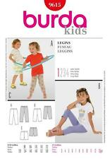 Burda Costura Patrón Kids Calzas en tres longitudes Talle 3 - 15 9615
