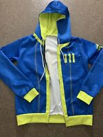 FALLOUT Zip Hoodie 111 Blue Small/Med NEW