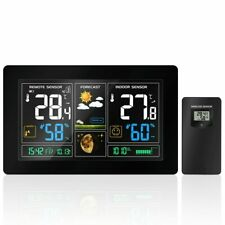 Wireless Weather Station Indoor Outdoor Hygrometer Thermometer Barometer
