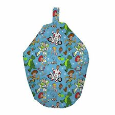Toy Story 4 Rescue Bean Bag Chair 100 Cotton Childrens Kids Bedroom Blue Disney