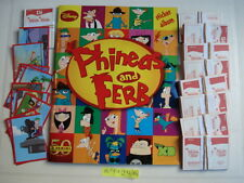 PANINI  EMPTY ALBUM + ALL 216 STICKERS OF PHINEAS AND FERB