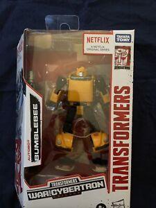 Transformers - Netflix War For Cybertron - Bumblebee - Walmart Exclusive - NIB