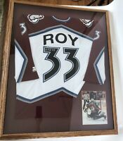 Patrick Roy Signed Autograph Authentic Colorado Avalanche Jersey Framed