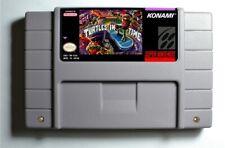 Tmnt Teenage Mutant Ninja Turtles Iv Turtles in Time Snes 16-Bit Game Cartridge