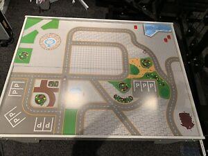 Playtive Junior Spieltisch Bahnwelt doppelseitig Spielzeugeisenbahn