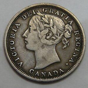 Canada - 1858 - Silver 20 Cents - KM# 4