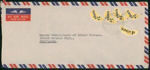 Mayfairstamps Tonga 1981 Banana Stamps Local Use Airmail cover wwo1585