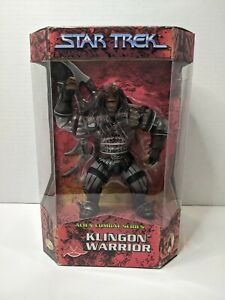 1999 Playmates Star Trek Alien Combat Series Klingon Warrior Factory Sealed (m)