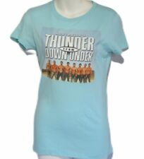 Next Level Womens Petite Medium Blue Thunder From Down Under T-Shirt